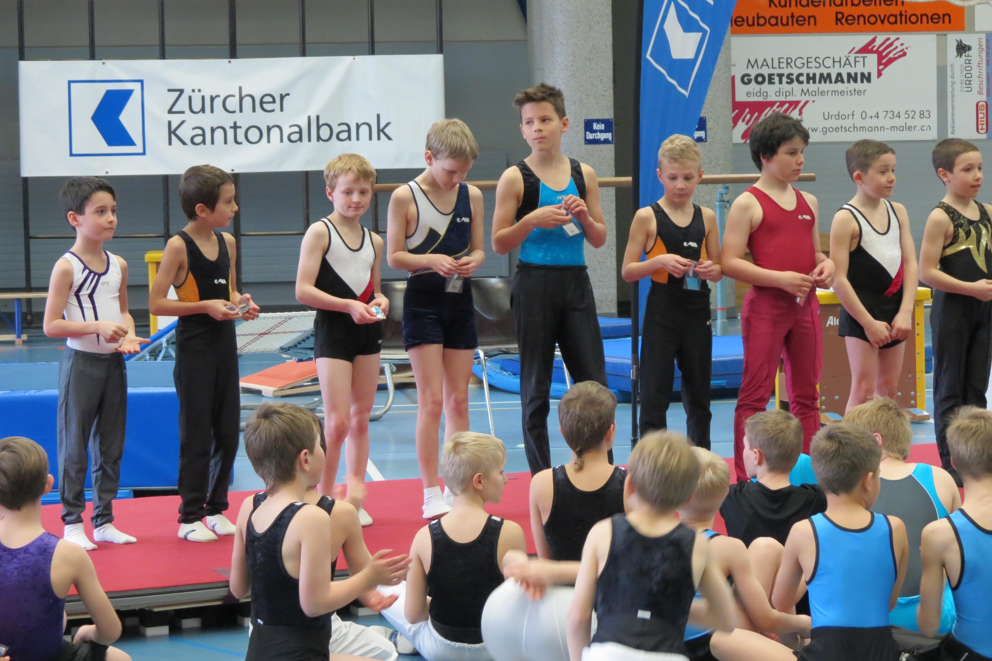 Frühlingswettkampf GETU 2015 Urdorf